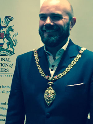 Simon Johnson Chairman of the National Association of Jewellers