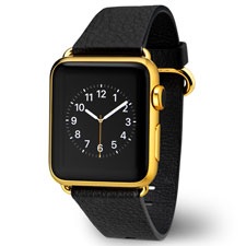 Apple Watch with Gold plating