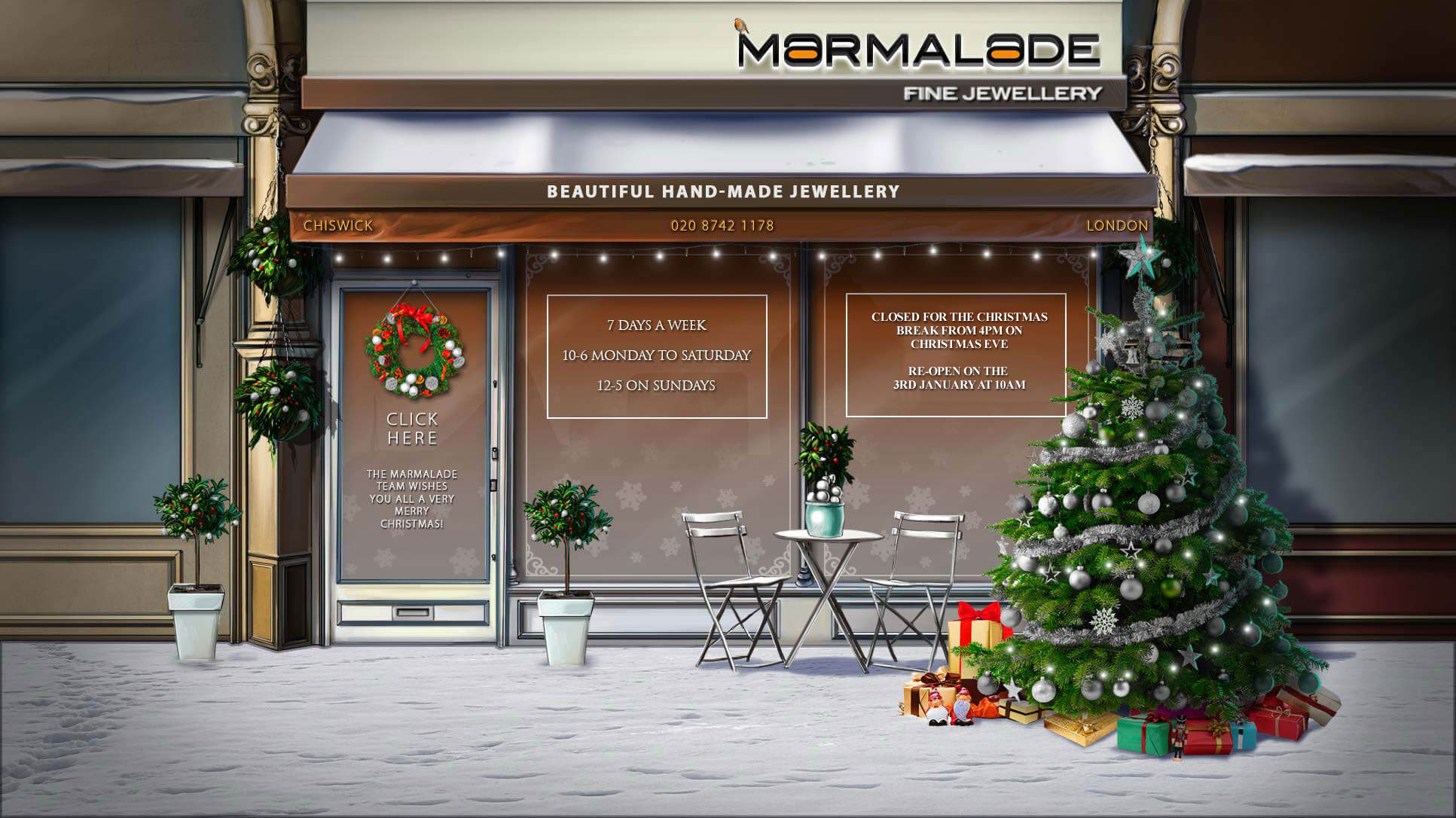 Marmalade Jewellery - Beautiful hand-made Jewellery
