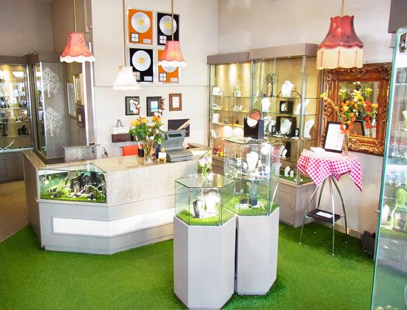 Marmalade Fine Jewellery London Shop Interior