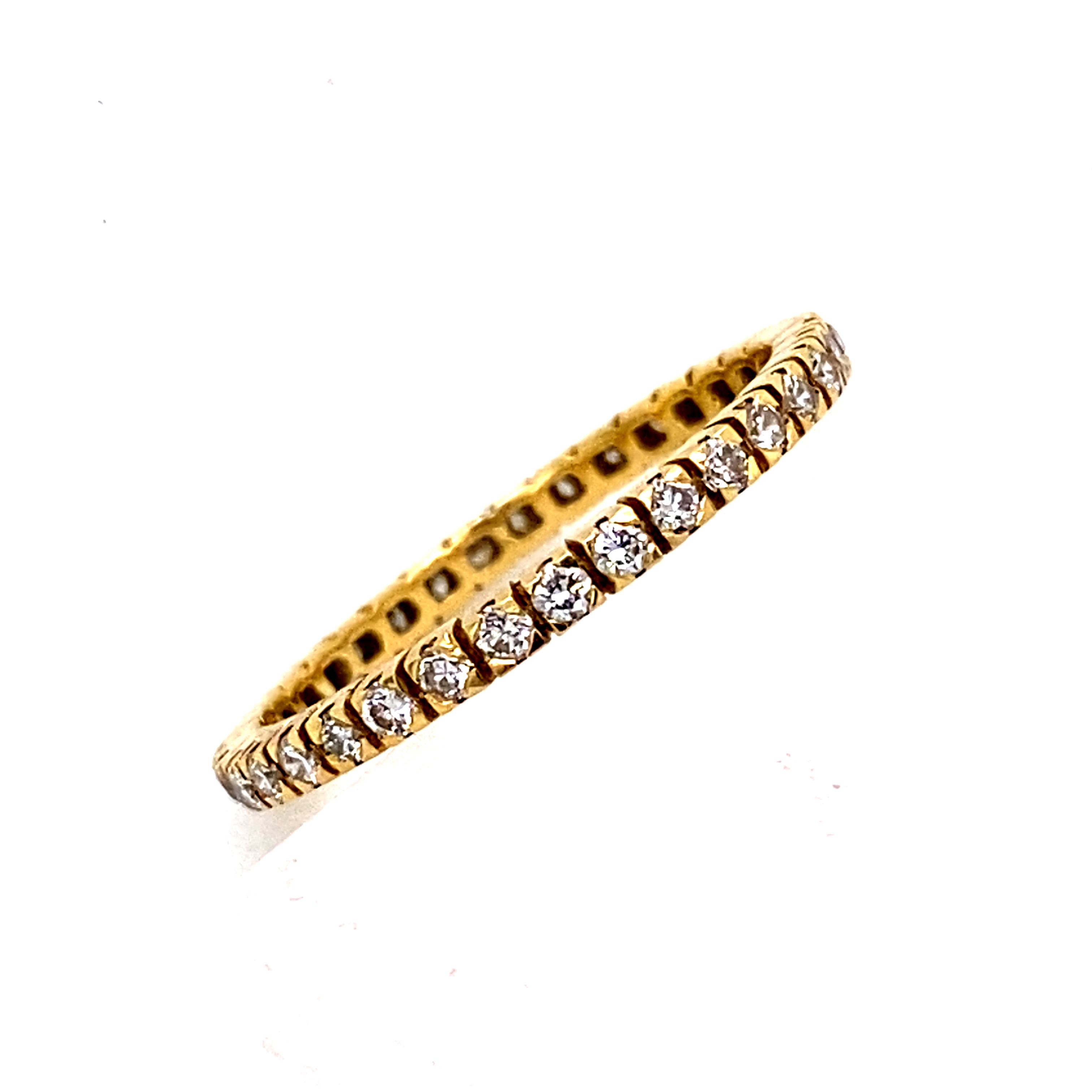 Claw Set Eternity Ring -0.53 carats