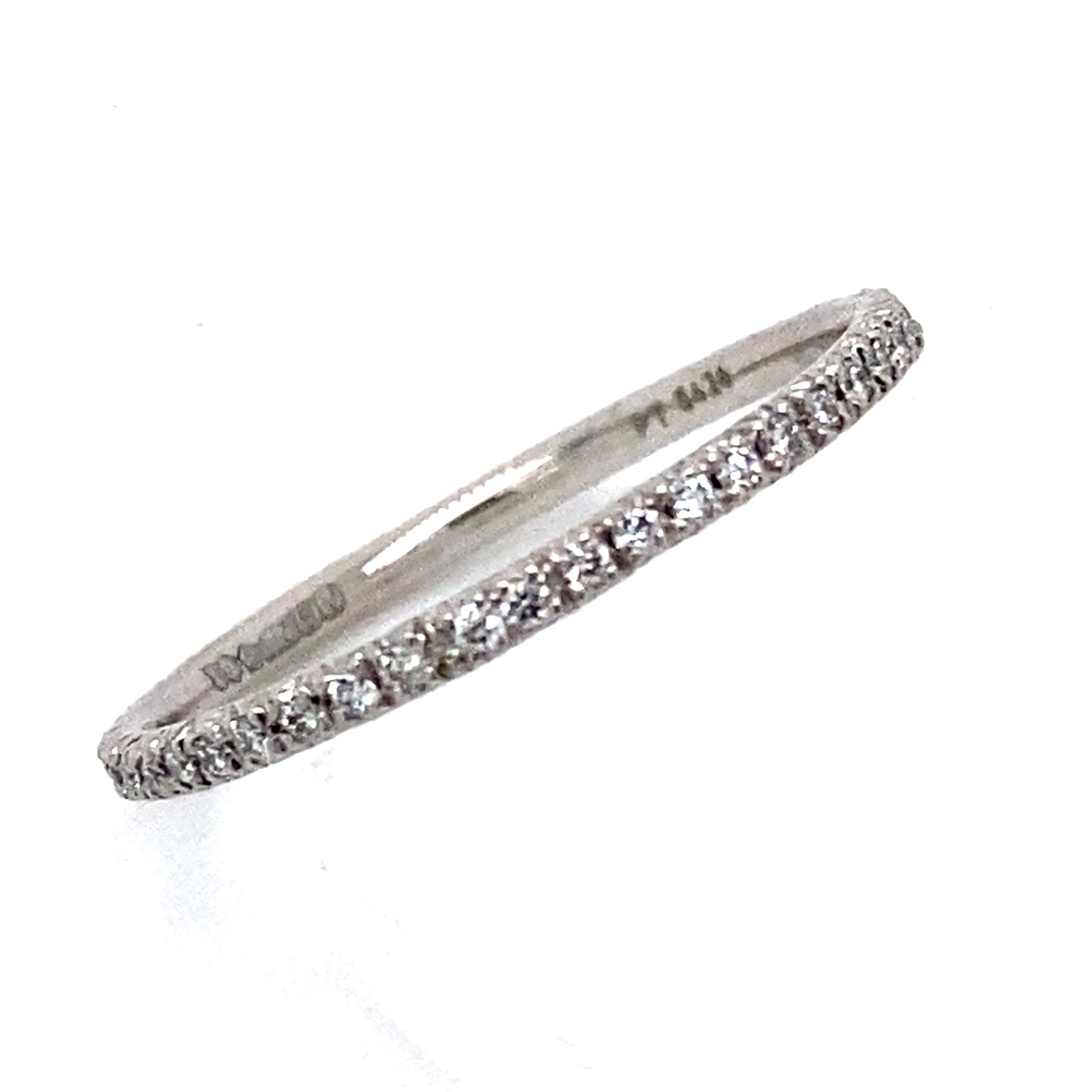 Full Diamond Eternity Band - Micro set 0.17 carats