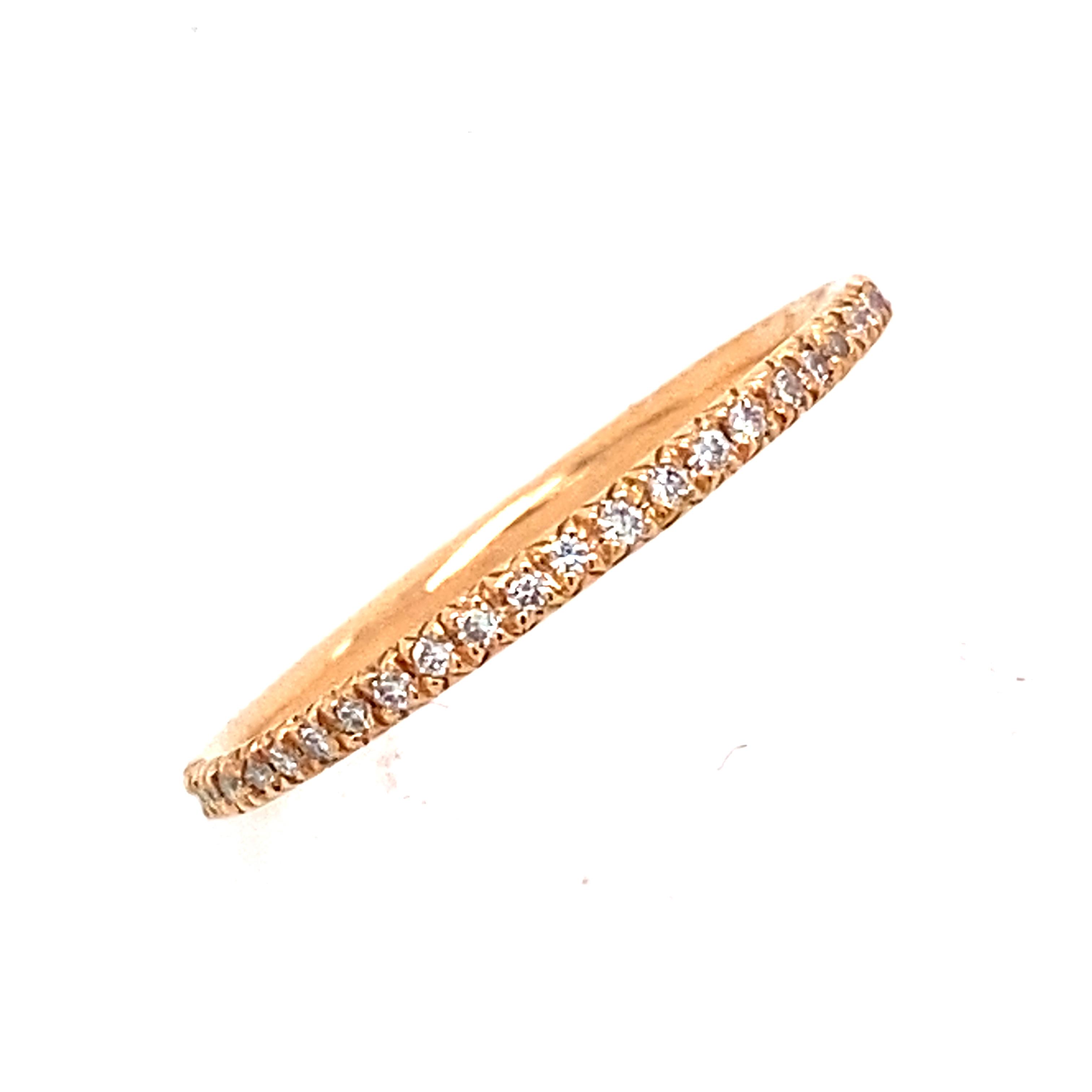 Micro Set Full Eternity Style Ring