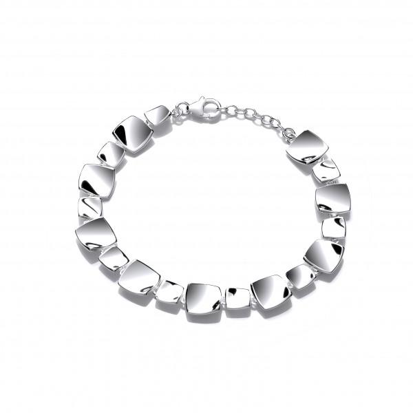 Silver Box Bracelet