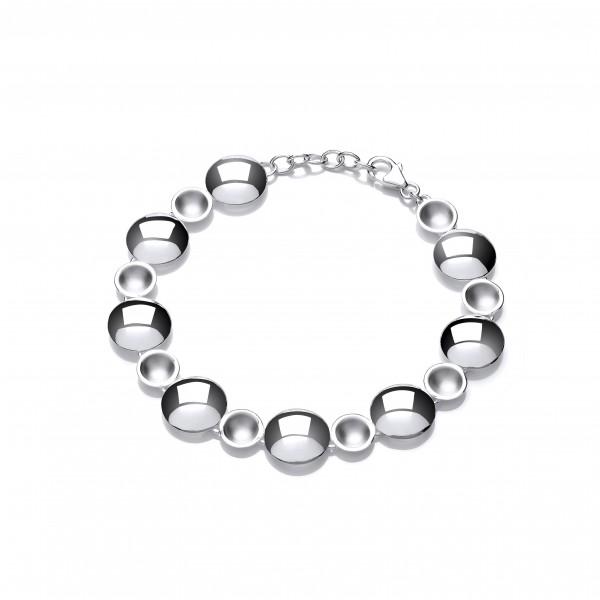 Silver Lunarscape Bracelet